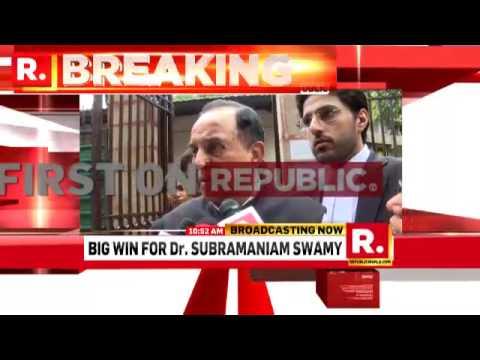Dr. Subramanian Swamy on Sunanda Probe | Republic TV