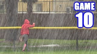 HARDEST RAIN I'VE EVER SEEN! | Offseason Softball Series | Game 10