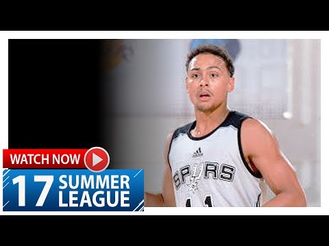 Bryn Forbes Full Highlights vs Pelicans (2017.07.13) Summer League - 29 Pts, 5 Ast