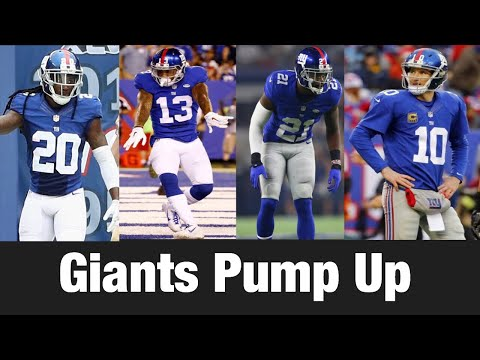New York Giants Pump Up 2017-18