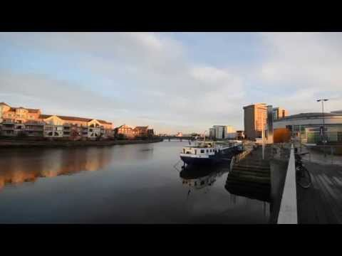 Belfast Waterfront, river Lagan
