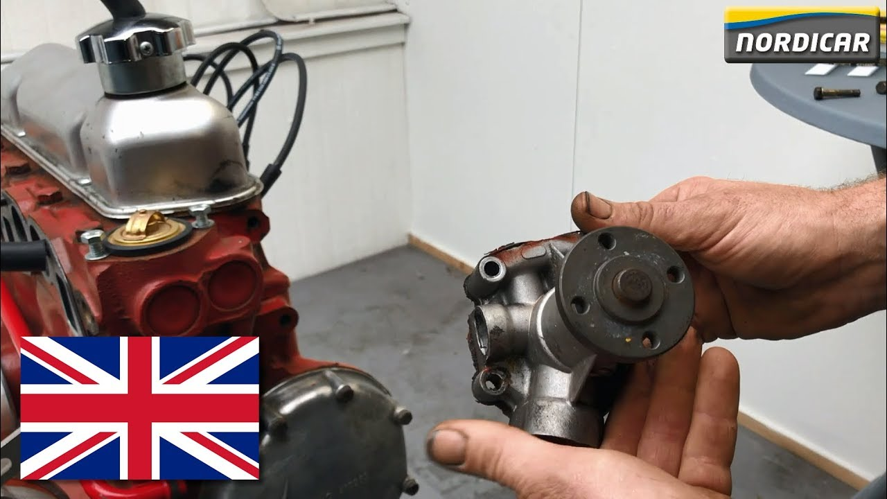 small resolution of water pump replacement volvo with b18 or b20 engine how to