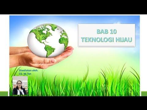 Geografi Tingkatan 2 Bab 10 Teknologi Hijau Youtube