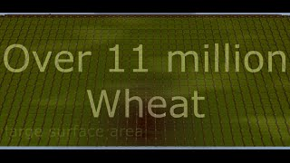 (11.000.000+) Biggest Wheat Farm in Minecraft! Ever! Download available!