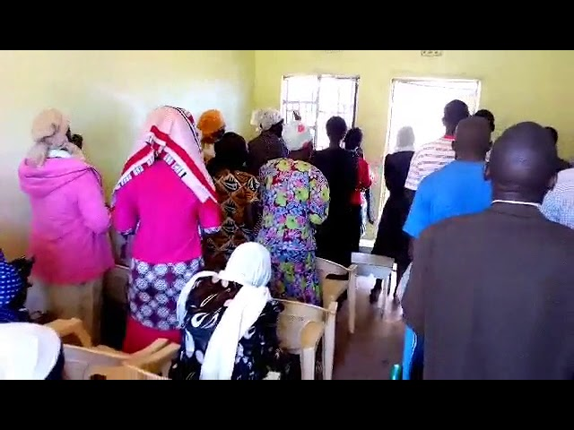 A Former Drunkard Leads in Worship to Jesus in Mois Bridge Kenya