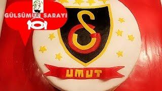 Galatasaray Pasta  tarifi / Galatasaray marsi / Galatasaray Torte /galatasaray / Gülsümün sarayi