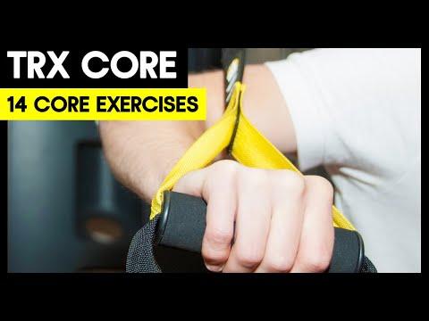 14 TRX Core Exercises