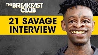 21 Savage Shows his Soft Side on The Breakfast Club