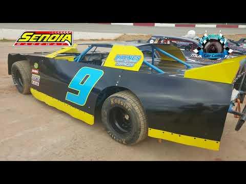 #9 Brandon Jones - Hobby - 8-12-17 Senoia Raceway - In Car Camera