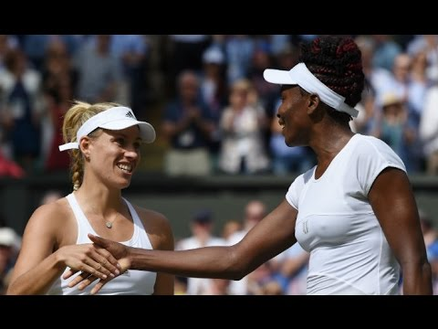 Angelique Kerber VS Venus Williams Highlight 2016 SF