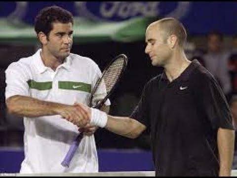 Agassi - Sampras - Australian Open 2000 semifinal - YouTube