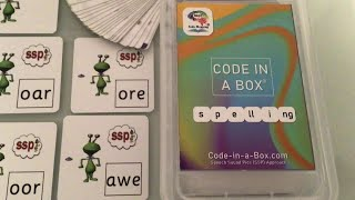 Spelling Code in a Box - Monster Mapping ! Monster Spelling for Dyslexic Learners