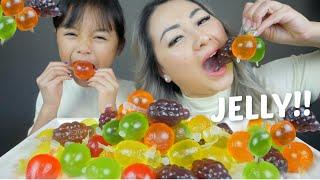 TikTok FRUIT JELLY!! Mukbang | N.E Let's Eat