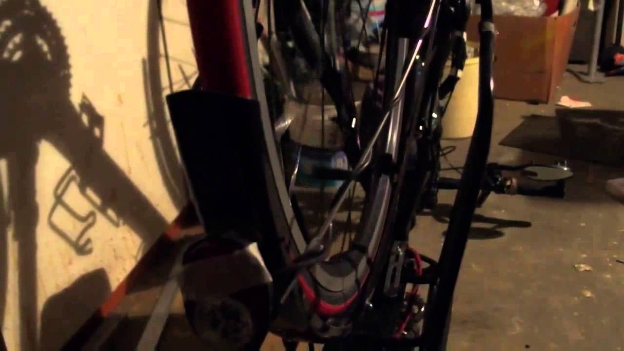 Homemade Bike Light Generator