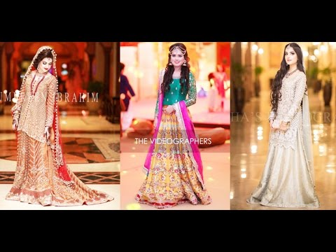 d17d5310ea Latest Walima Dresses Designs Trends Collection 2016 2017 - YouTube