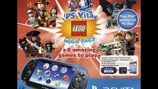 Unboxing PsVita 2000 Lego MegaPack