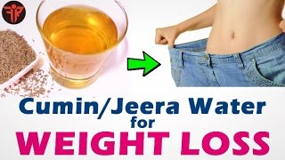 JEERA Water for weight loss | CUMIN SEEDS home remedy to lose weight | Fitness Rockers