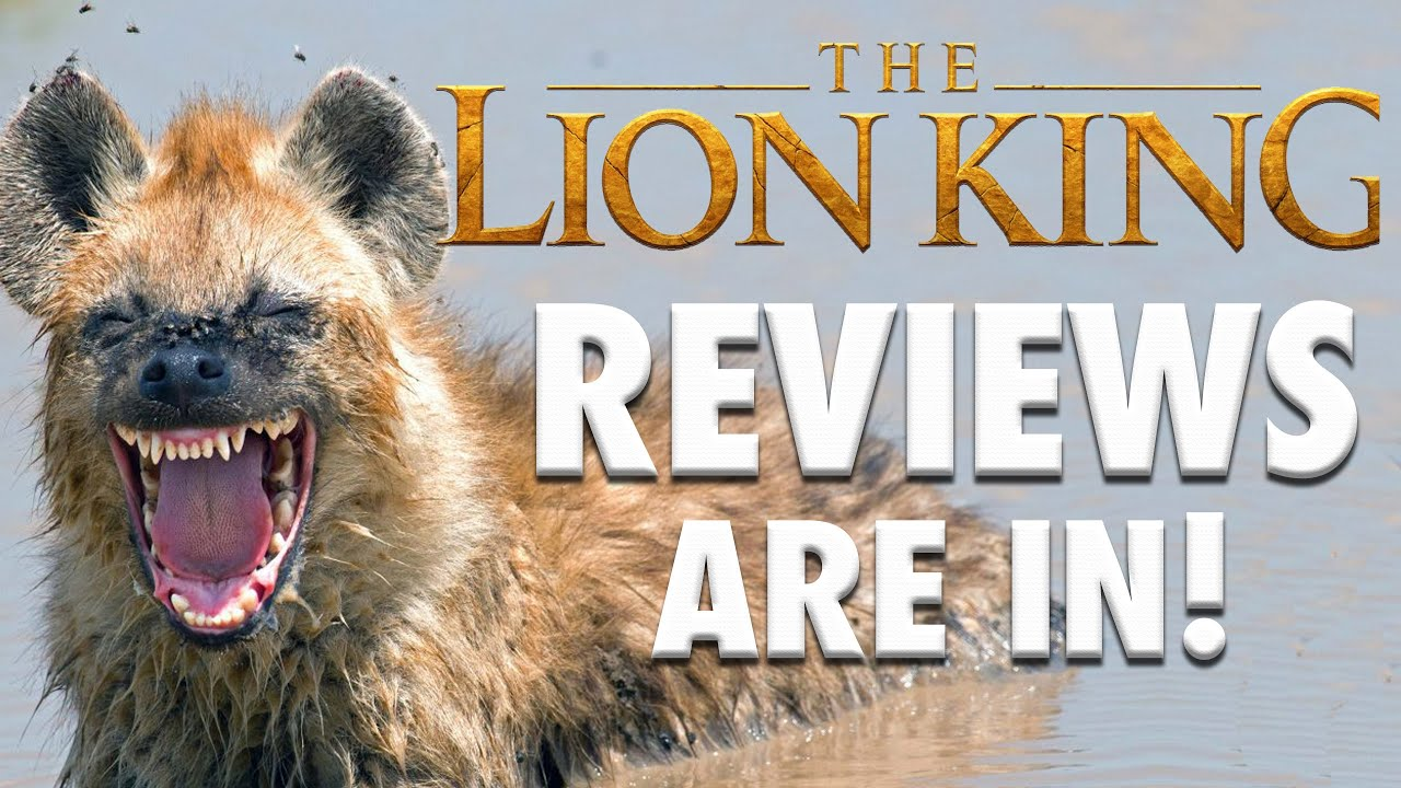 The Lion King 2019 Early Reviews Say Ugh