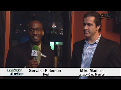 Mike Mamula - JerseyMan/PhillyMan Legacy Club Member - Field House Networking Event