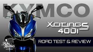 Kymco Xciting S 400i Maxi Scooter Road Test and Review!