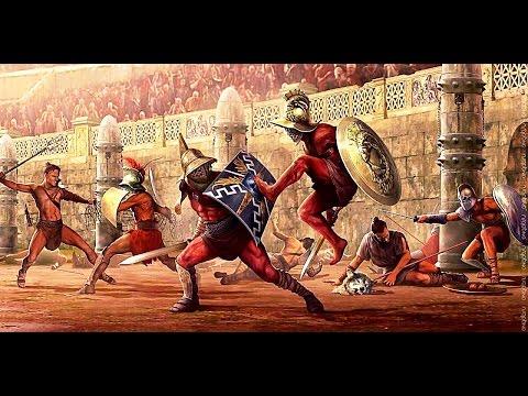 Гладиаторы - браузерная игра (анимационные бои с элементами тактики и стратегии)