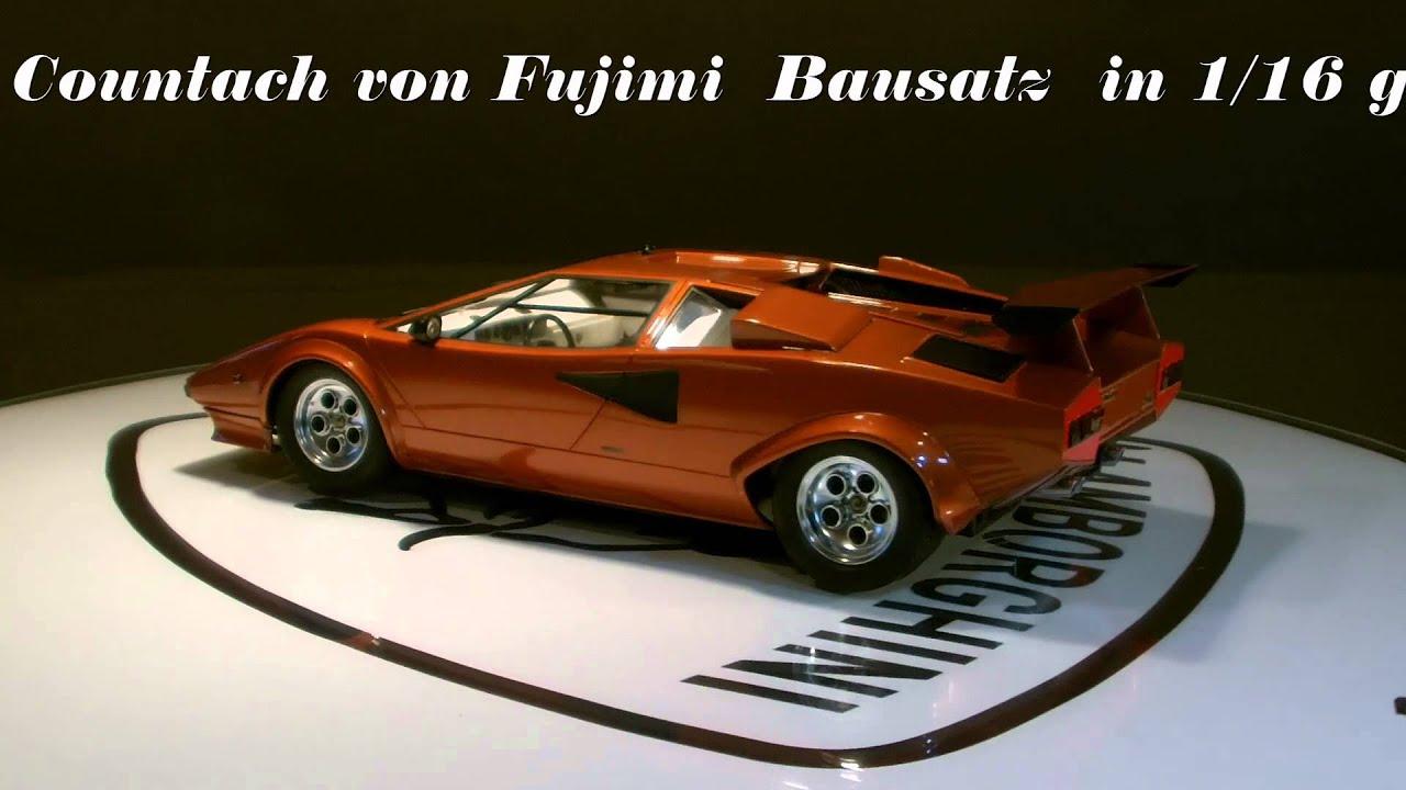 Lamborghini Countach Fujimi 116 Youtube