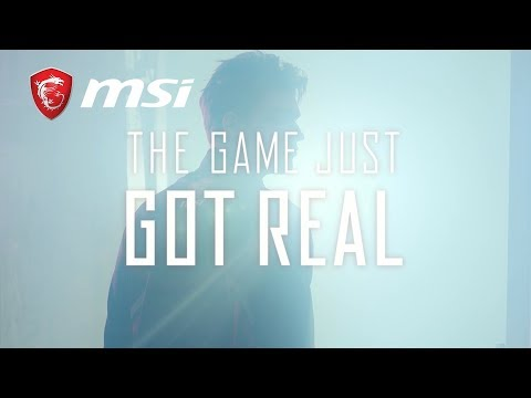 THE GAME JUST GOT REAL with New MSI Gaming Laptops | MSI