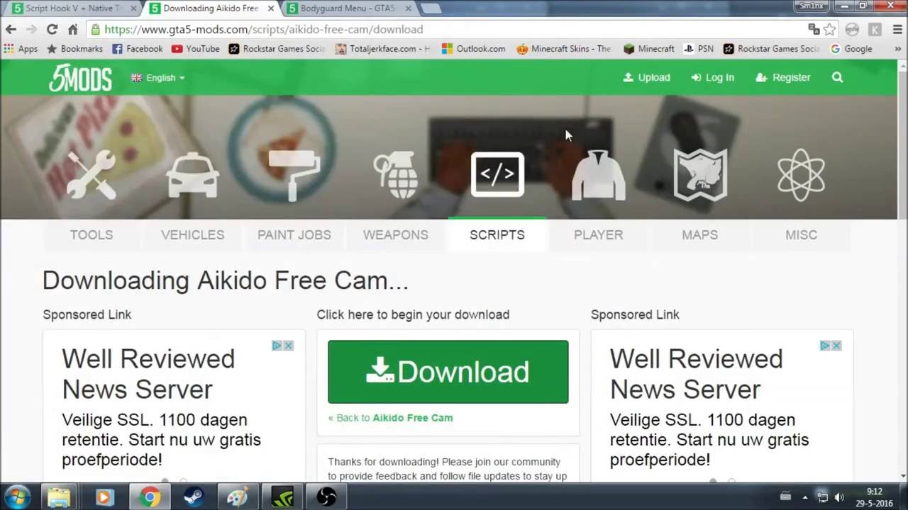 How To Install Akido Free Cam In Gta 5