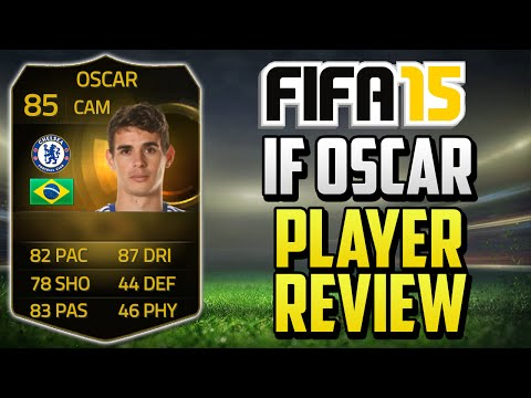 FIFA 15 IF Oscar Player Review (85) w/ In Game Stats & Gameplay - Fifa 15 Player Review