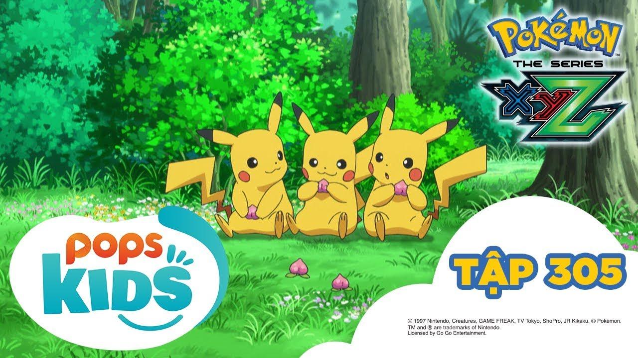 Pokémon Tập 305 - Lời nguyền của khu rừng và Bokure trắng! - Hoạt Hình Pokémon Tiếng Việt S19 XYZ