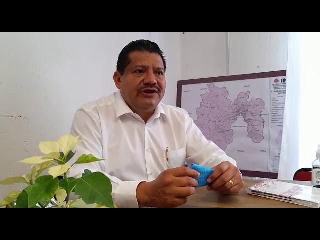 Buenos deseos de Samuel Rios para Delfina Gómez