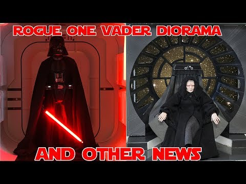 1/6 ROGUE ONE Vader Diorama and other news!