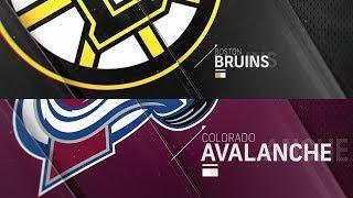 Boston bruins vs colorado avalanche nov 14, 2018 highlights hd
