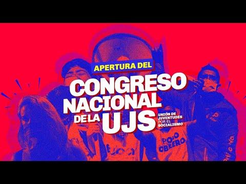 Apertura del Congreso Nacional de la UJS // Transmisión en vivo