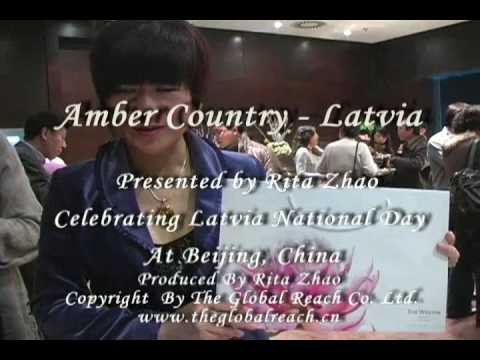 Amber Country Latvia by Rita Zhao at Beijing Westin Hotel Conference Center