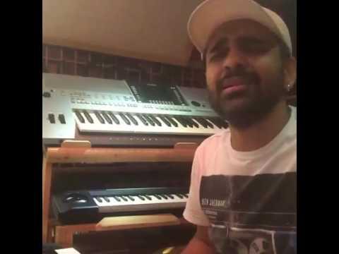 Habib Wahid Live singing on Fecbook with Friend,Moner Vasha boleche