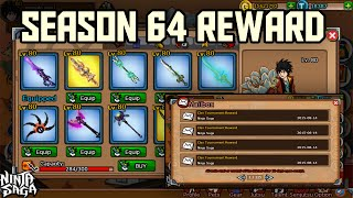 ninja saga clan rewards season 64 2015