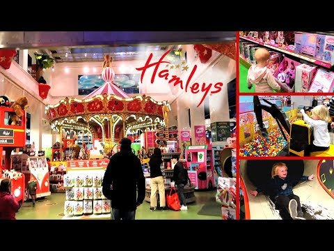 Biggest Toy Store In The World! Hamleys Toy Store