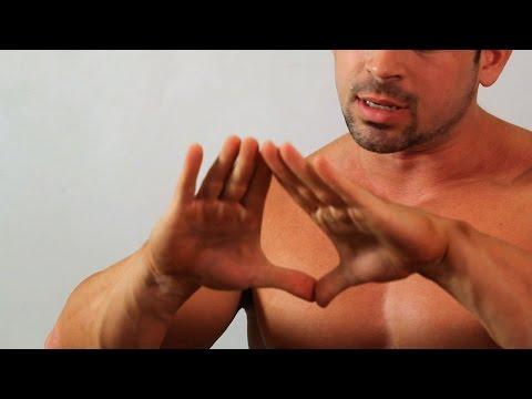 Cómo hacer flexiones de diamante |  Ejercicios de brazo