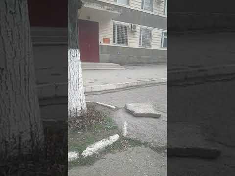 Парковки заложены плитами. Г. Прохладный