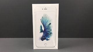 iPhone 6s Plus 128gb Silver Unboxing