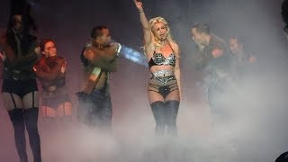 Britney Spears - Work Bitch+Womanizer+Break The Ice/Piece Of Me - LIVE in Mönchengladbach 13.08.2018