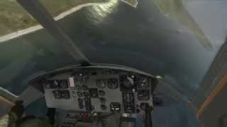 DCS: UH-1H autorrotation attempt FAIL