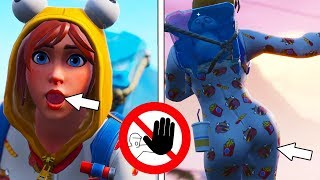 *NEW* ONESIE SKIN IS ACTUALLY CUTE ASF! (DON'T TOUCH YOURSELF) FORTNITE SEASON 7