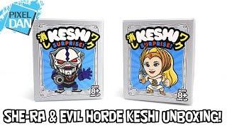 She-Ra & Evil Horde Mini Keshi Blind Box Super7 Unboxing