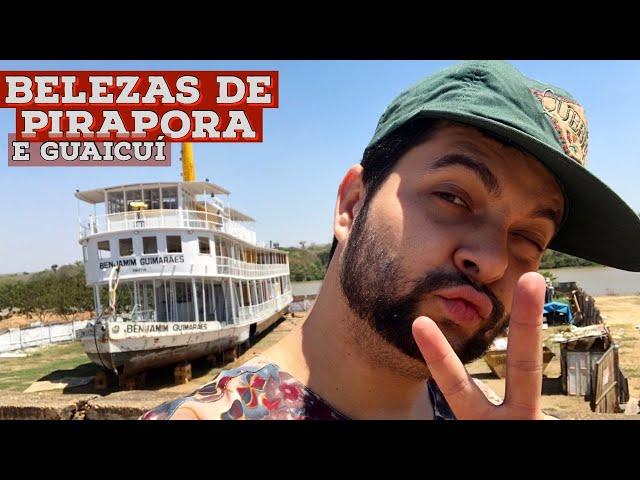 O MELHOR DE PIRAPORA parte 1   Vapor Benjamin Guimarães, Rio São Francisco, Árvore na Igreja e mais