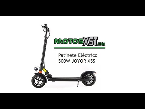 JOYOR X5S UNBOXING Patinete Eletrico MotosXST com Terrassa Barcelona
