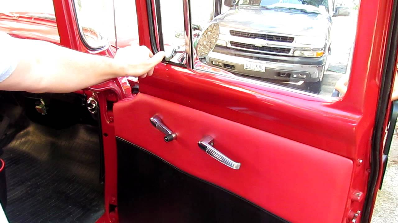 01 Loose Vent Window Problem Scott S1956 Ford F100 Youtube