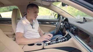 Porsche Panamera тест драйв InfoCar ua Порше Панамера