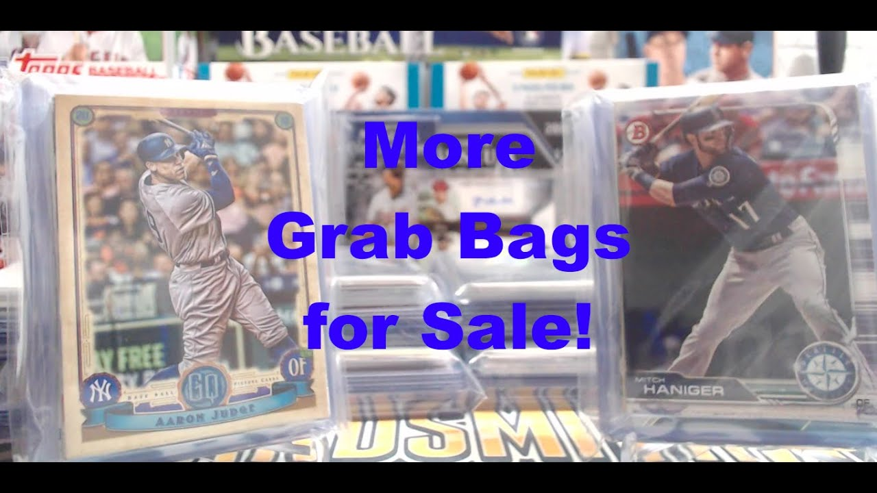 Baseball Card Team Grab Bags Al 4 More Al Team Bags For Sale 10 20 Cards Per Bag 1 Hit